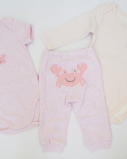 https://funnybunnykids.bg/wp-content/uploads/2017/08/детски-подаръчен-комплект-за-бебе-момиче-боди-панталони-рак.jpg детски подаръчен комплект за бебе момиче боди панталони рак