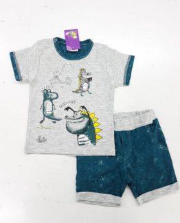 https://funnybunnykids.bg/wp-content/uploads/2018/05/31957684_244435599628763_8613078547260506112_n.jpg летен детски комплект за момче и бебе динозаври