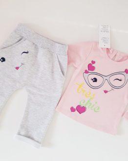 https://funnybunnykids.bg/wp-content/uploads/2018/12/48164875_593969657704342_5996446176885342208_o.jpg ватиран зимен комплект за бебе момиче с блуза и ватиран панталон