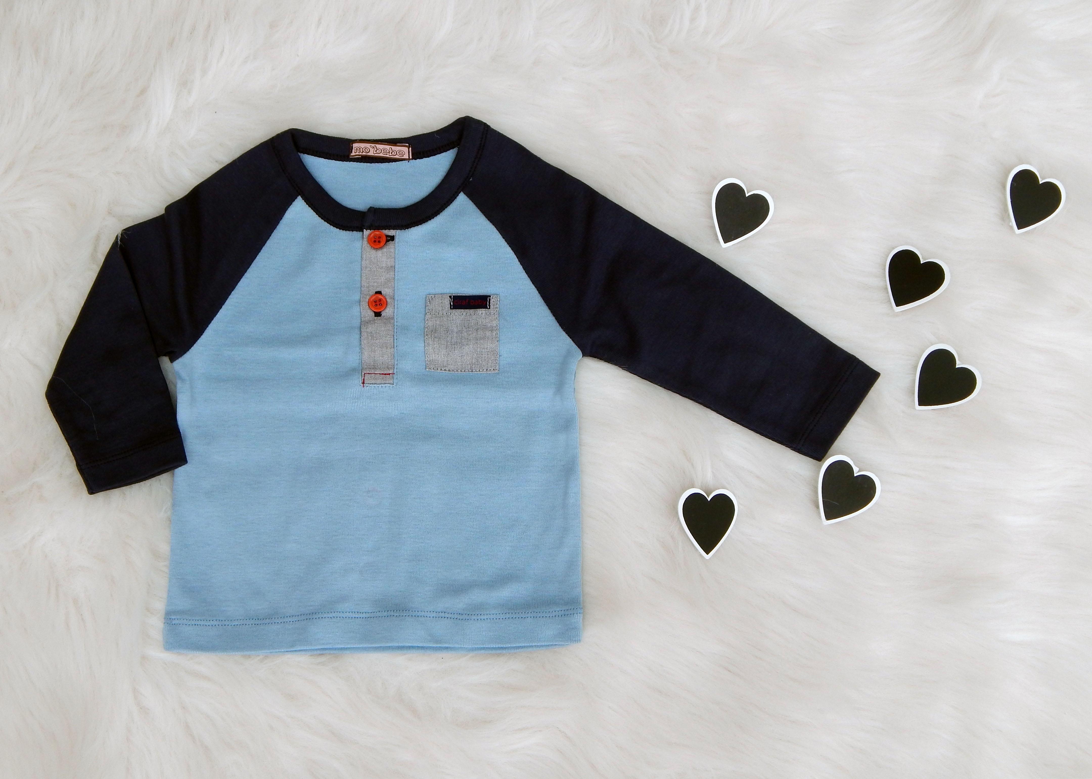 ec275647b2b Детска памучна блуза с дълъг ръкав – FUNNY BUNNY KIDS