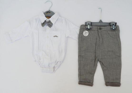 https://funnybunnykids.bg/wp-content/uploads/2019/11/4.jpg официален комплект за бебе момче за кръщене или сватба бебешко боди риза официален костюм за бебе момче