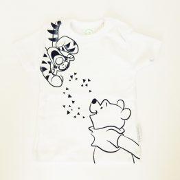 тениска бебе мечо пух и тигър бебе момче момиче блуза