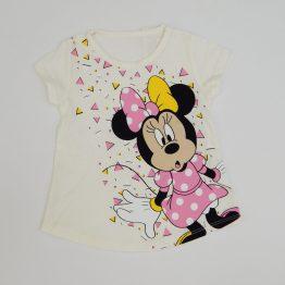 тениска блуза туника с къс ръкав мини маус момиче бебе момиче