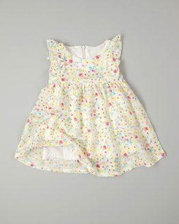 лятна рокля за бебе момиче ефирна лятна рокля
