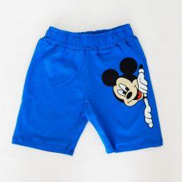 детски къси панталони за момче с Мики Маус бебешки къси панталони за момче с мики маус