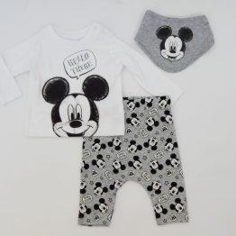 комплект за бебе с Мики Маус бандан и тениска