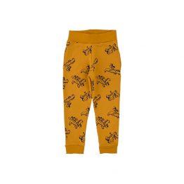панталон за момче в жълт цвят