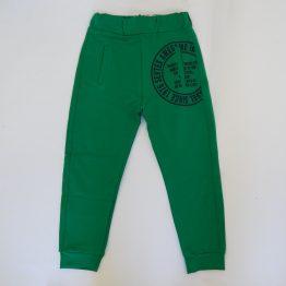 детски спортен панталон анцуг за бебе момче в зелено