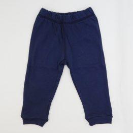 тънък бебешки панталон за бебе момче в син цвят