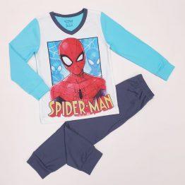 детска пижама за момче с дълъг ръкав и картинка на Спайдърмен