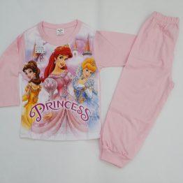 детска пижама за момиче с ариел пепеляшка и красавицата и звяра анабел