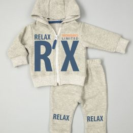 ватиран зимен комплект за бебе момче