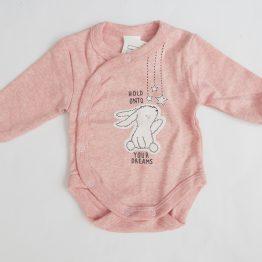 боди за бебе момиче странично закопчаване боди за момиче
