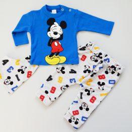 комплект за бебе момче от три части с Мики