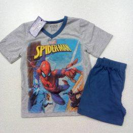 лятна пижама за момче със спайдърмен детска лятна пижама за момче