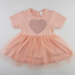 рокля за бебе момиче с тюл